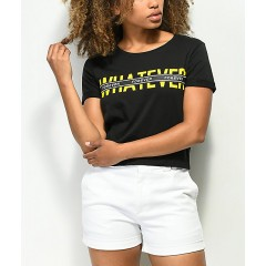 Empyre Yohanna Whatever Forever Black T-Shirt Women's Short Sleeve Discount Wholesale dCt7BNwuK33kXG