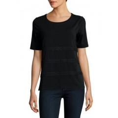 Lord & Taylor - Classic Short-Sleeve Tee Women's T-Shirts Short Sleeve Online Wholesale lobfMNIdNfiQWo