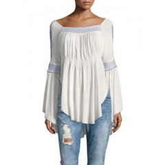 Free People - Ira Valley Top Women's T-Shirts Long Sleeve Dm45pUezUJJd2x