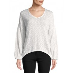Highline Collective - Hi-Lo Pullover Women's T-Shirts Long Sleeve Cheap Sales LIgbEOXY7ATd06