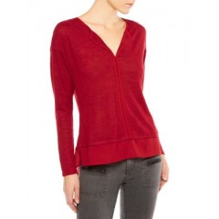 Sanctuary - Hanna Layered Hem Tee Women's T-Shirts Long Sleeve iPgY4rPdITb6f9