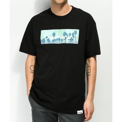 Diamond Supply Co. Palms Box Logo Black T-Shirt Men's Graphic Tee Wholesale Sales XBzYQfLSgjeaAj