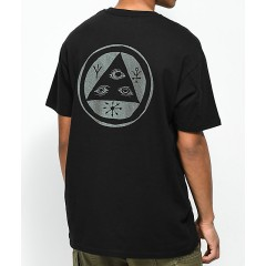 Welcome Talisman Black & Shifting Ink T-Shirt Men's Graphic Tee lLcfCxhPC19ZS0