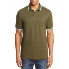 Fred Perry Twin Tipped Slim Fit Polo Men's Polos Online Discount Dt43yqq8mdWKIX