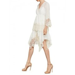 BCBGMAXAZRIA - Two-Piece Embroidered Top and Spaghetti Strap Tank Top Women's Blouses Long Sleeve Online Sale j0LcFvGI24VfXk