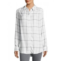 Lord & Taylor - Checkered Button-Down Shirt Women's Shirt 8AtibLfJ0Dcs62