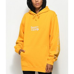 Valley High Don't Tripp Gold Pullover Hoodie Wholesale Sales SVUr6JQJIGgbMd
