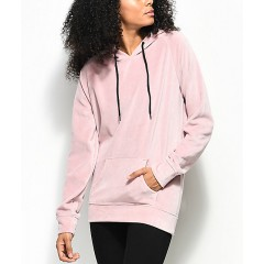 Zine Claud Velour Mauve Hoodie Discount Wholesale sSQndUxuIanLNS
