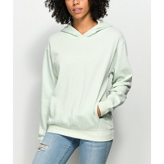 Zine Gill Light Green Drop Shoulder Hoodie Cheap Online 3c8Nb5ITr1bXtB