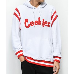 Cookies Alumni Hall White French Terry Hoodie Men's Sweatshirts & Hoodies Online Discount EcrJ7AgT9DNXO7