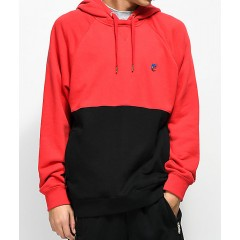 Cookies Carrera Red & Black Hoodie Men's Sweatshirts & Hoodies Fashion Online OxKvNl0JyFKOJT