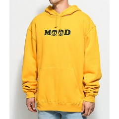Gnarly Mood Yellow Hoodie Men's Sweatshirts & Hoodies Online Sale 3dpZIq9lsjK4V9