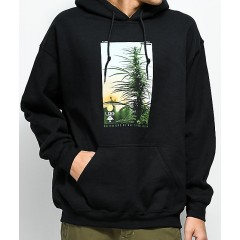 LRG Cultivators Black Hoodie Men's Sweatshirts & Hoodies Online Wholesale dxJ7fnDaEmZzY1