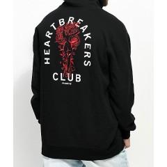 Primitive Club Black Hoodie Men's Sweatshirts & Hoodies kJ8hA9EenvDqjT