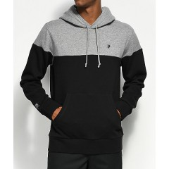 Primitive Dirty P Blocked Grey & Black Hoodie Men's Sweatshirts & Hoodies Online Wholesale vUDprNsStCMgdd