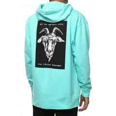 Welcome Devoramus Teal Hoodie Men's Sweatshirts & Hoodies 3rBqyw3atBZqNk