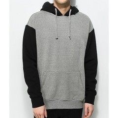 Zine Tone Grey & Black Hoodie Men's Sweatshirts & Hoodies Fashion Online tearkiUEDQDlGp