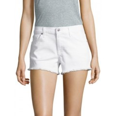 7 For All Mankind - Cut-Off Denim Shorts Women's Shorts Cheap Online IKiRDeD1jLwgyE