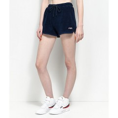 FILA Follie Navy Terry Shorts Women's Shorts Online Wholesale jaKhVX43W6NThJ