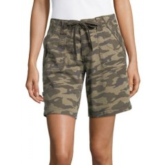 Jag - Adeline Camouflage Drawcord Shorts Women's Shorts Online Wholesale HcYl4ZhXT9nkXf