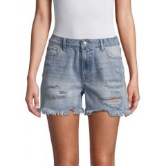 Kensie jeans - Distressed High-Rise Denim Shorts Women's Shorts CwE6QMFBCfKcx7