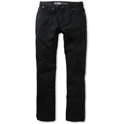 Free World Messenger 5 Pocket Twill Black Pants Men's Pants EikFVufgkWoCVi