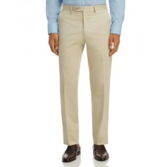 The Men's Store at Bloomingdale's Classic Fit Stretch Cotton Dress Pants - 100% Exclusive Men's Pants WnBtasY5bwuONP