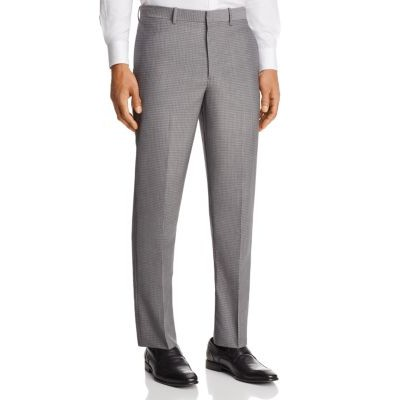 Theory Marlo Tailored Gingham Slim Fit Suit Pants Men's Pants Online Discount DvtsCi2BaP09it