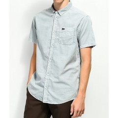 RVCA That'll Do Cosmos Washed Button Up Shirt Men's Button Ups Shirt Online Sale ALxkgnlymr7Hw1