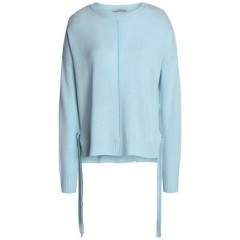 AUTUMN CASHMERE Pointelle-trimmed cashmere sweater Women's Sweaters cCQb9za4UiLuTo