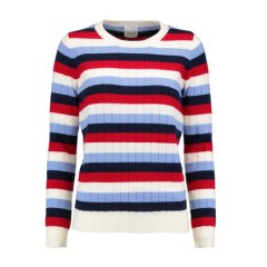 MADELEINE THOMPSON Amber striped wool and cashmere-blend ribbed-knit sweater Women's Sweaters 4l2HFqvyTfHfFr