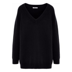 T by ALEXANDER WANG Mélange wool and cashmere-blend sweater Women's Sweaters Fashion Online ZIAuxwDpzqiYrF