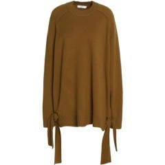 TIBI Oversized knot-detailed cashmere sweater Women's Sweaters Discount Wholesale qJtRqop0ANBayf