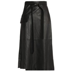 ALEXIS Nita leather wrap skirt Women's Skirts WNXQD6npNBHcww