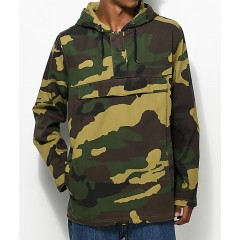 Ninth Hall Falcon Camo Anorak Jacket Men's Light Jackets Online Sale JkVMIT9fdjSsZM