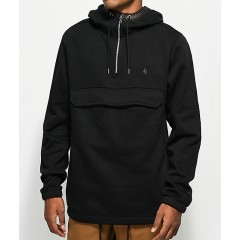 Volcom x Kyle Walker Black Anorak Hoodie Men's Light Jackets 99a026w2XaY8lN