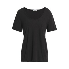 JAMES PERSE Cotton and linen-blend jersey T-shirt New Arrival Women's T-Shirts 2CH6Le3cF0VE2X