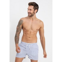 New Arrival Men's Swimwear Jack & Jones JJISUNSET SEERSUCKER - Swimming shorts - light blue denim Fashion Online 8sbeWDrMxrzMhv