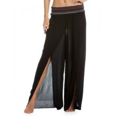 Isabella Rose - Split Wide Leg Pants Women's Swimwear Cover-ups Wholesale Sales TSjX5xbffDbsqD