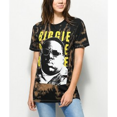 Biggie Sunglasses Bleached T-Shirt Women's Graphic Tee Wholesale Sales o4WYjMvDRhG66f